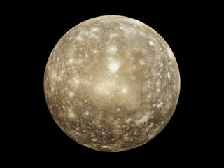 Callisto 3d Model Nasa Solar System Exploration