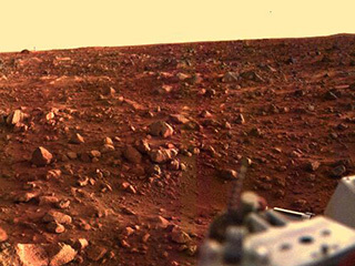 Sunset on Mars (Viking 1)