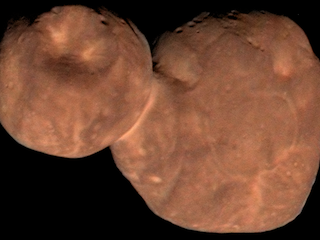 Enhanced-Color Composite Image of Kuiper Belt Object Arrokoth (2014 MU69)