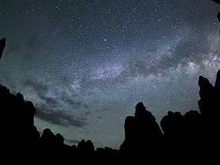 Milky Way Galaxy Over Canyonlands National Park