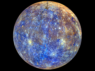 Mercury False Color Rotation Movie