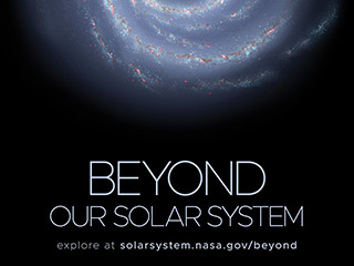 Beyond Our Solar System Poster - Version A