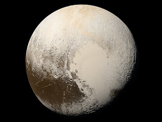 True Colors of Pluto