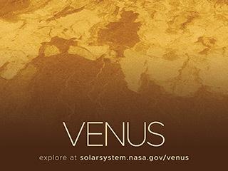 Radar-generated Surface view of Venus.