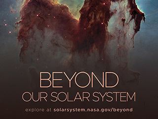 Beyond Our Solar System Poster - Version C