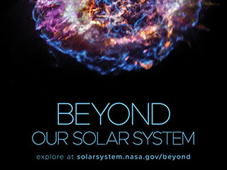 Beyond Our Solar System Poster - Version D