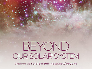 Beyond Our Solar System Poster - Version F