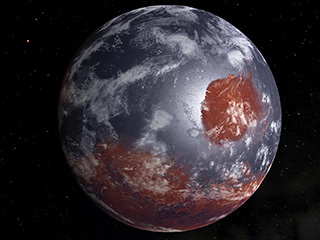 Mars: Wet to Dry Animation