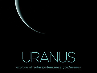 Uranus Poster - Version B