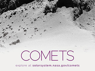 Comets Poster - Version C