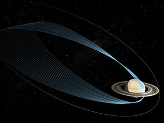 The Final Orbits: Cassini Grand Finale (Artist's Concept)