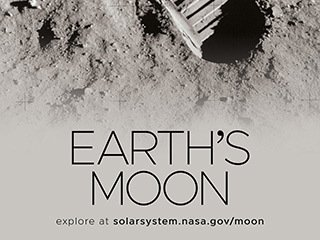 Earth's Moon Poster - Version I