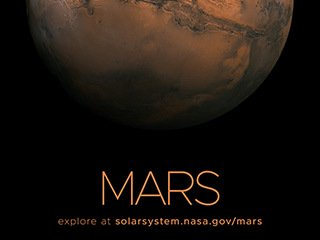 Mars Poster - Version A