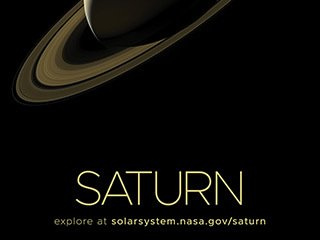 Saturn Poster - Version A