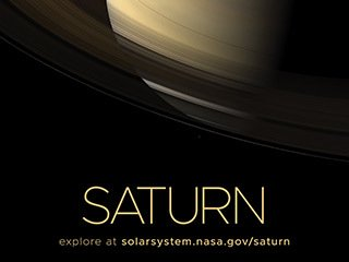 Saturn Poster - Version C