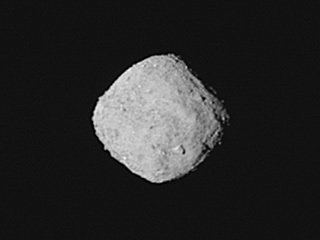 Asteroid Bennu from 205 miles