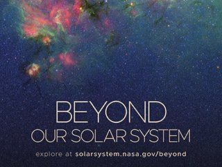 Beyond Our Solar System Poster - Version B