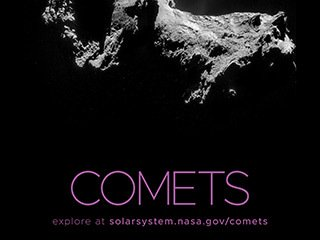 Comets Poster - Version A