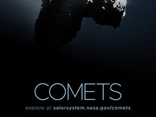 Comets Poster - Version B